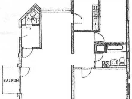 Gepflegte 3-Zimmer-Wohnung mit Balkon in Ludwigshafen-Friesenheim