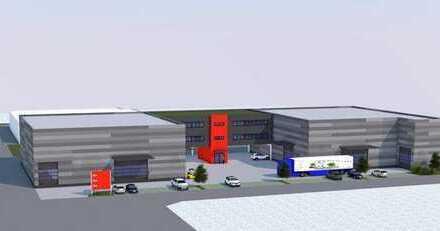 18_VH3634 Teilbarer, provisionsfreier Neubau mit einer Lagerhalle mit Büroflächen / Neutraubling