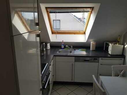 Schöne 2-Zimmer-DG-Wohnung mit Balkon in Werl