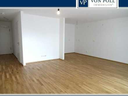 Erstbezug Neubau, helle 2-Zimmer-Wohnung mit Tiefgaragenstellplatz