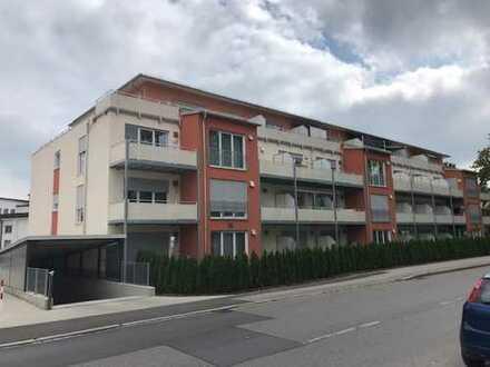 Neubau: 2 - Zimmer - Dachgeschoss - Wohnung sucht Mieter: inkl. Einbauküche/Fußbodenheizung & Balkon