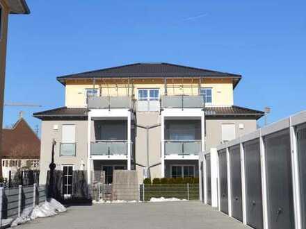 Exklusive 4 Zimmer-DT-Wohnung über den Dächern von Großaitingen!