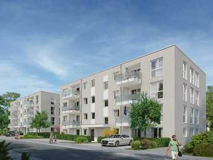 Endlich zu Hause - 4-Zimmer-Wohnung mit 2 Terrassen und Gartenanteil im EG