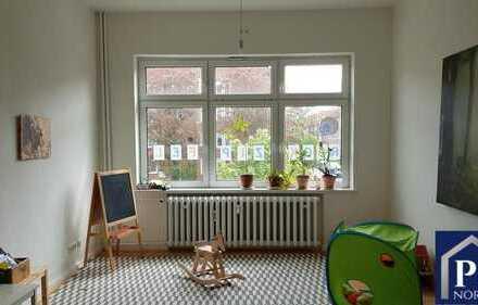 Wohnung am Blücherplatz - ca. 100 qm - zum 01.07.2019 frei. Direkt darunter befindet sich eine K...