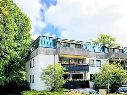 ***Dachterrassenwohnung in toller Lage in Harlaching***