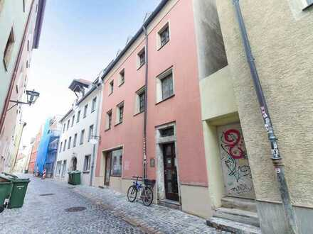 Vermietete Wohn- und Geschäftsfläche im Herzen von Regensburg als attraktives Anlageobjekt
