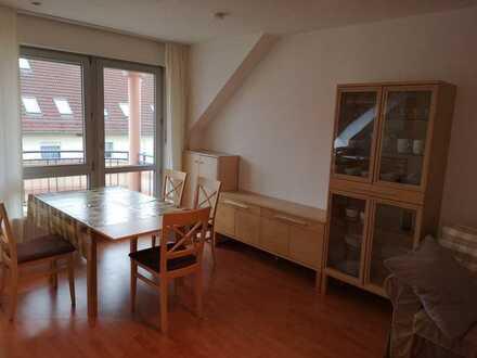 Zeitlich befristete Vermietung - möblierte 1,5-Zimmer-Wohnung, Königsbrunn