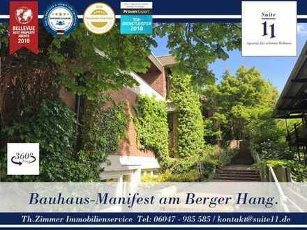 Bauhaus-Villa der Extraklasse in Toplage von Bergen-Enkheim