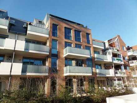 Schwachhausen / Gete, neuwertige 3-Zimmer-Eigentumswohnung mit Terrasse und exklusiver Ausstattung