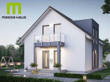 Energiesparendes Einfamilienhaus mit Keller