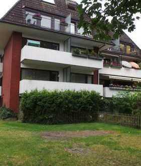 Schöne 3-Zimmer-Wohnung mit Gartenanteil!
