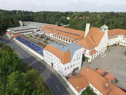 Büroflächen bis 500 qm im historischen Gebäude Ensemble der Gartenstadt Hellerau
