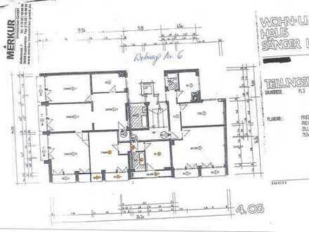 Zentral gelegenes 1-Zi-Appartement mit 46m² - großer Küchen- bereich - Lift