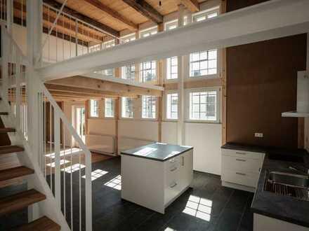 Attraktive 3-Raum-Galeriewohnung mit Garten und Einbauküche im Herzen von Geseke