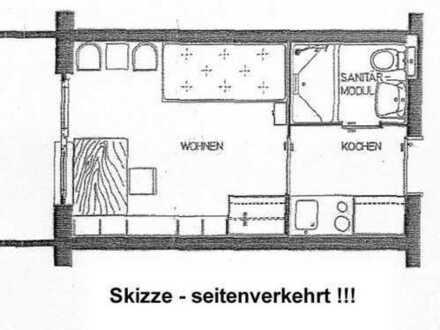 15_EI5547 Ruhiges 1-Zimmer-Appartement mit Westterrasse / Regensburg - Ost