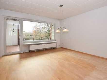Mit Blick ins Grüne! Große Wohnung mit Balkon in Braunschweig!