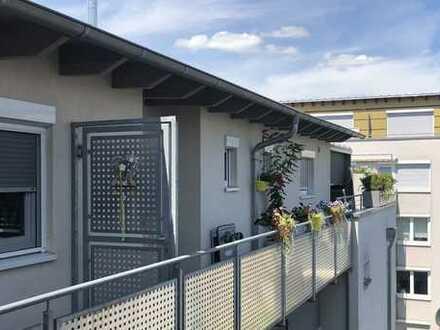 Exklusive, gepflegte 4-Zimmer-Penthouse-Wohnung mit Dachterrasse im Zentrum von Heilbronn