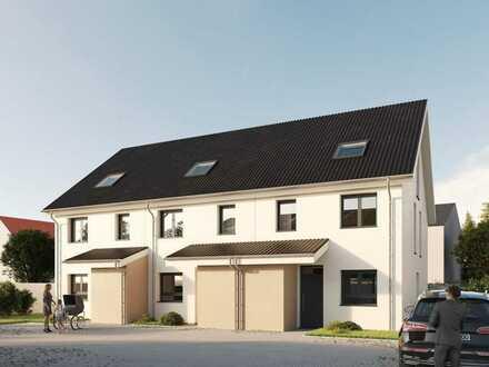 Familien-Townhaus in Rheinnähe mit Terrasse und Garten mit Südausrichtung