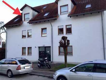 4 ZKB DG-Wohnung mit großem ausgebauten Hobbydachspitz