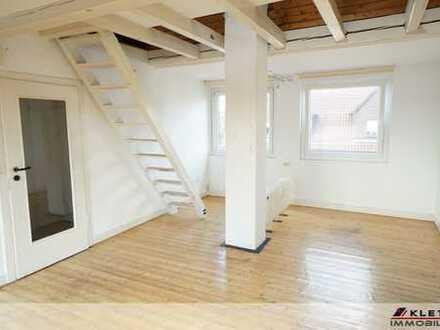 Für Single oder Paar: Urige, attraktive 3-Zimmer-DG-Wohnung mit Balkon und Garage