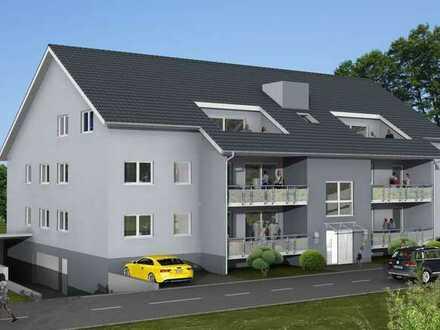 Erstbezug: gehobene 4-Zimmer EG-Wohnung in Kronau, Balkon und Gartennutzung
