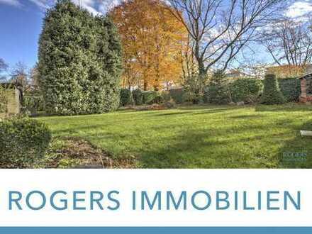 ROGERS: Großzügiges Grundstück mit Einfamilienhaus und Südausrichtigung in ruhiger Lage