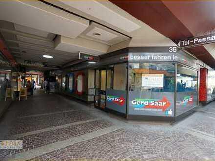 Homburg- Zentrum, Ladenlokal (Maisonette) + 2 Stellplätze zu vermieten!