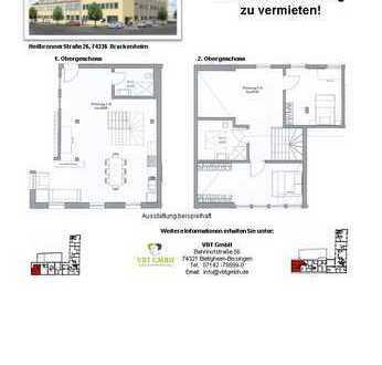 Großzügige 4-Zimmer Maisonette Wohnung (Nr. 1.16 C, 1./2.OG)