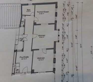 Sanierte 2,5-Zimmer-Wohnung mit Einbauküche in Landau in der Pfalz