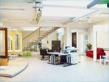 MAINZ ~ 400 m² Verkauf/Büro + 213 m² Lager + Nebenfl. + Parkfl. (700 m² Gewerbefläche)