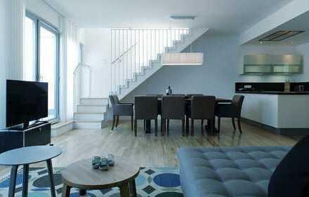 ***Möbliertes Luxuspenthouse über 3 Ebenen mit atemberaubender Dachterrasse***