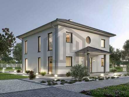 PROVISIONSFREI: Projektierte hebelHAUS Stadtvilla in ruhigem Wohngebiet!