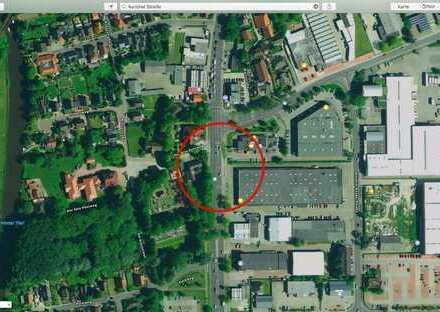 1.200 qm Gewerbegrundstück an der Auricher Straße in Emden