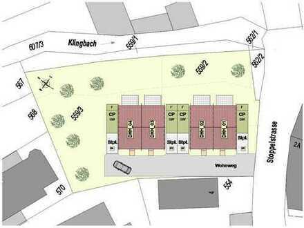 ++ NEUBAU! Moderne und helle Doppelhaushälften in idyllischer Lage am Klingbach!! ++