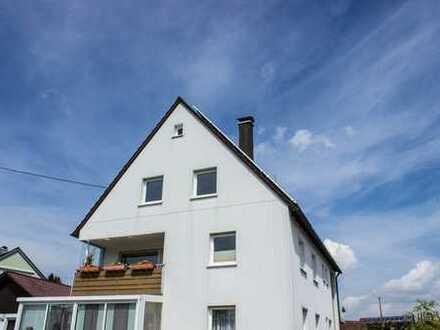 ruhig & gepflegt - Dachgeschoss-Wohnung in Attenweiler (8 km westl. von Biberach)