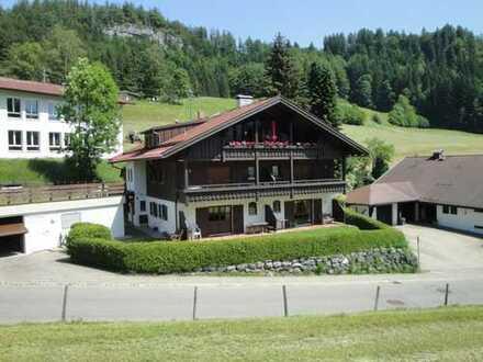 Ruhige und helle 2-Zimmer-Wohnung in Oberstdorf-Tiefenbach