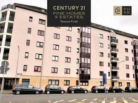 2-in-1: Kapitalanlage oder Eigennutz: 2 Zimmer-Wohnung, 54 m², Balkon, Frankfurter Bahnhofsviertel