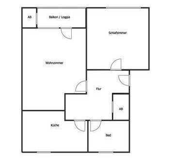Renditeobjekt! 62 m² Wohnung mit Balkon in Iserlohn-Gerlingsen!