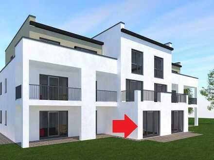 ERSTBEZUG * Schicke Wohnung mit Einbauküche, Terrasse...