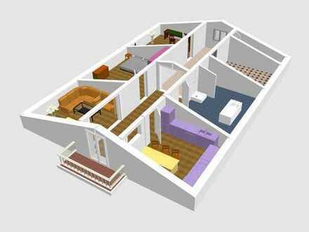 Wohnung im Sanierungszustand, Wünsche noch realisierbar!