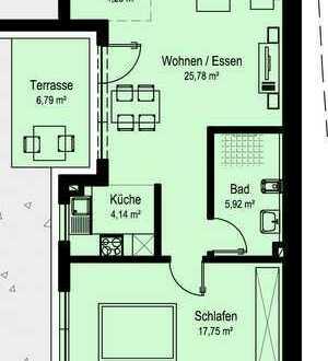 NEUBAU Schöne 2-Zimmer-Wohnung in Dörzbach (W2)