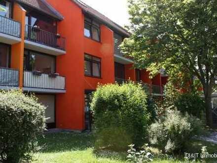 1-Zimmer-Wohnung mit sonniger Terrasse in beliebter Wohnanlage in Uninähe