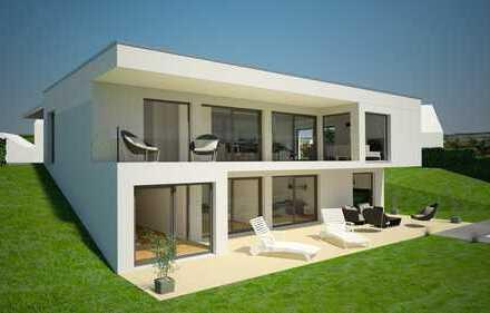 Modern gestaltetes Haus in Ortsrandlage