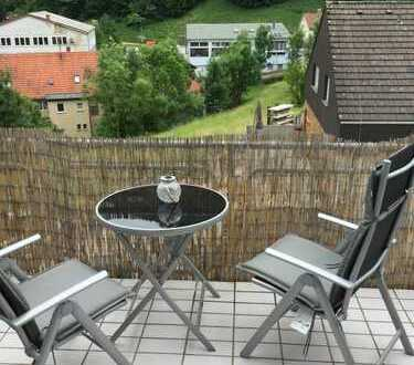 Schöne 2,5-Zimmer-Dachgeschosswohnung mit Flair in Wiesensteig zu vermieten