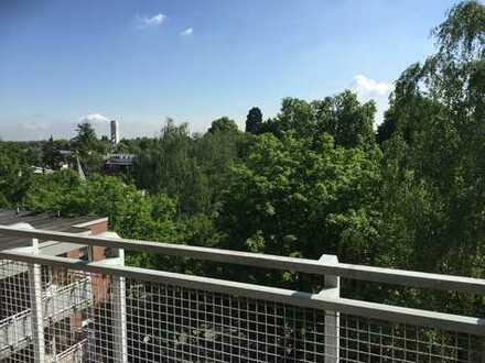 Altengerecht sanierte 1-Raum-Wohnung mit Sonnenbalkon in Krefeld-Bockum