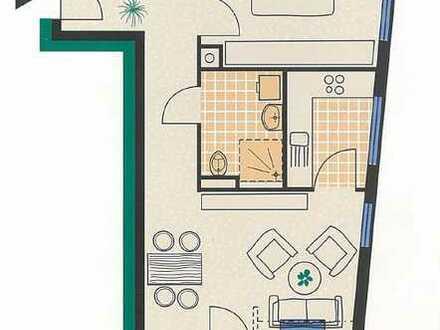 Schöne 2-Zimmer-Seniorenwohnung (ab 60 Jahren)