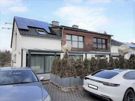 Exclusives Doppelhaus als Niedrig - Energiehaus gebaut - Exklusiv-Ausstattung- Beste Wohnlage