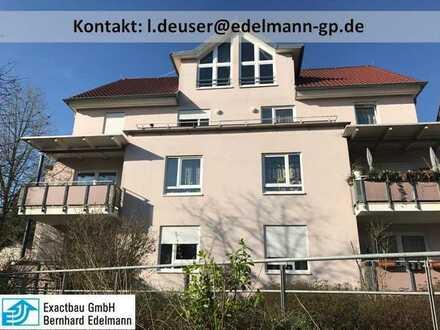 Schöne 3,5-Zimmer-Wohnung in zentrumsnaher Lage mit ca. 75 m² Wohnfläche, im Erdgeschoss, mit Bal...