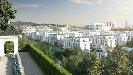 Exklusive Neubau-Penthouse Wohnung mit Dachterrasse in Leonberg mit Blick auf Pomeranzengarten