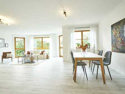 Dipperz - Modernisierte EG Wohnung mit Garten in traumhafter, ruhiger, grüner Lage